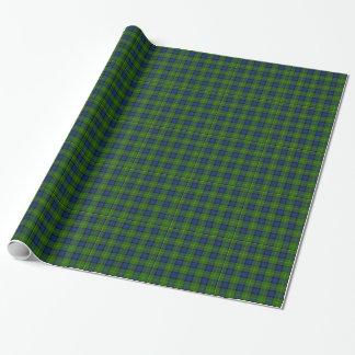 Muir Tartan Plaid Wrapping Paper