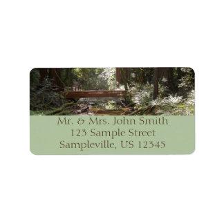 Muir Woods Bridge II Label