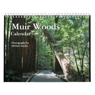 Muir Woods Calendar