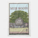 Muir Woods National Monument 2 Hand Towel