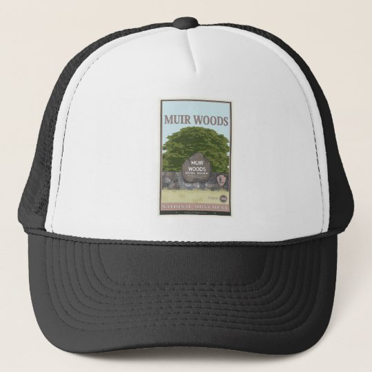 Muir Woods National Monument 2 Trucker Hat