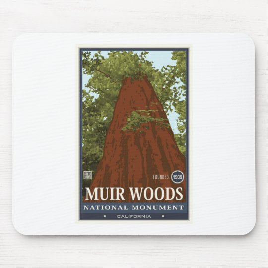 Muir Woods National Monument 3 Mouse Pad