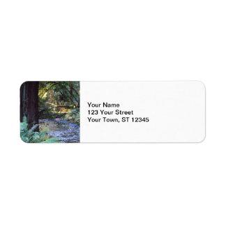 Muir Woods Stream Label