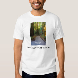 Muir Woods Walkway California Products T-Shirt