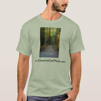 Muir Woods Walkway California Products T-Shirt