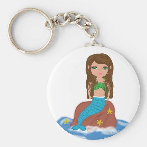 Muirenn the Mermaid Keychain