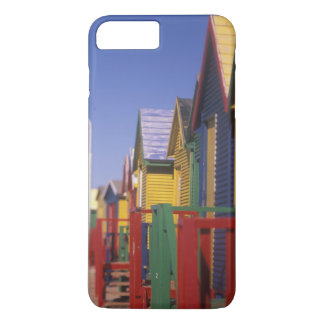 Muizenburg Bathing Boxes, near Capetown, South iPhone 8 Plus/7 Plus Case