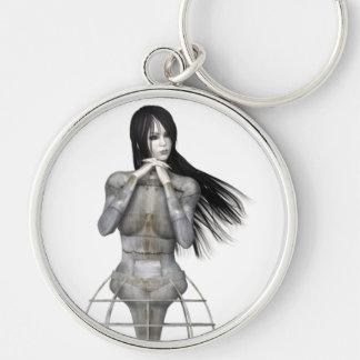 Mujer 3 de Biomechannequin - maniquí del gótico 3D Llavero