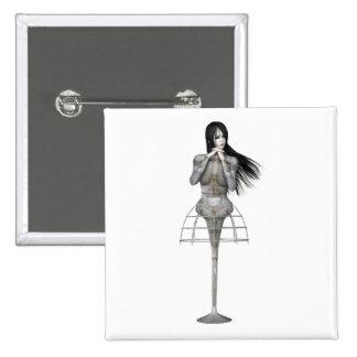 Mujer 3 de Biomechannequin - maniquí del gótico 3D Pin