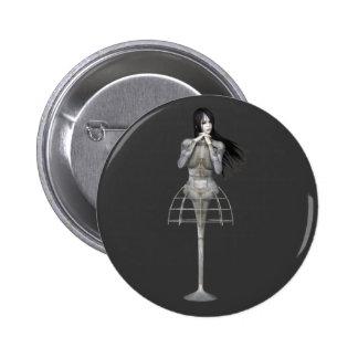 Mujer 3 de Biomechannequin - maniquí del gótico 3D Pins