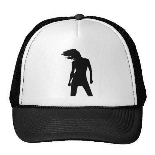 Mujer 8 gorras de camionero
