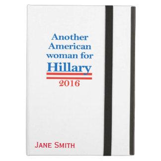 Mujer americana para Hillary Clinton