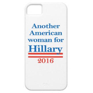 Mujer americana para Hillary Clinton iPhone 5 Carcasas