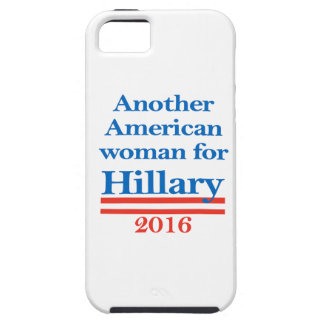 Mujer americana para Hillary Clinton iPhone 5 Fundas