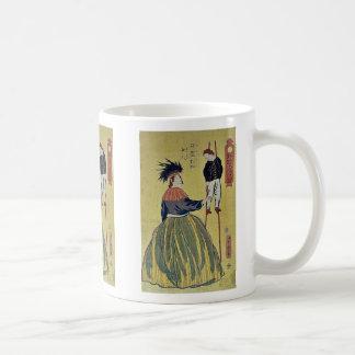 Mujer americana por Utagawa, Yoshitora Taza De Café