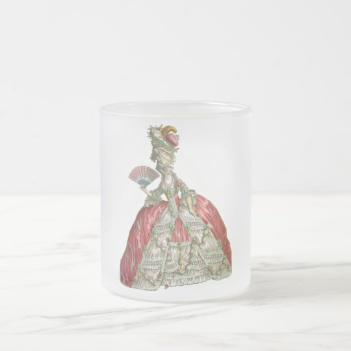 Mujer apresurada vintage tazas
