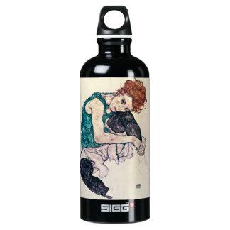 Mujer asentada Schiele de Egon