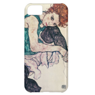 Mujer asentada Schiele de Egon Carcasa iPhone 5C