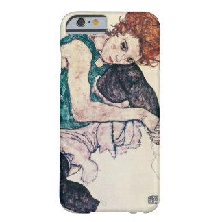 Mujer asentada Schiele de Egon Funda Barely There iPhone 6