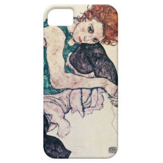 Mujer asentada Schiele de Egon Funda Para iPhone SE/5/5s