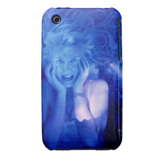 Mujer asustada funda bareyly there para iPhone 3 de Case-Mate