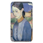 Mujer bretona joven, 1889 (aceite en lona) Case-Mate iPod touch cobertura