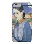 Mujer bretona joven, 1889 (aceite en lona) funda barely there iPhone 6
