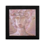 Mujer color de rosa <Outsider Art> Caja De Recuerdo