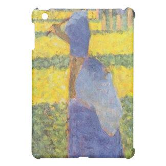 Mujer con el parasol de Jorte Seurat