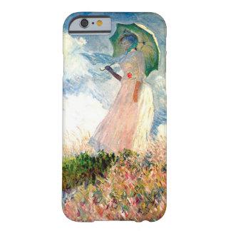 Mujer con la promenade Monet del parasol