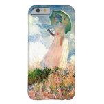 """""""Mujer con la """"promenade"""" Monet del parasol """" Funda De iPhone 6 Slim"""