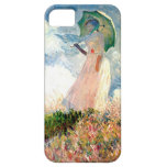 """""""Mujer con la """"promenade"""" Monet del parasol """" iPhone 5 Case-Mate Carcasas"""