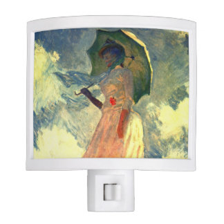 Mujer con la sombrilla de Monet Luces De Noche