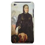 Mujer con los perros, 1858 (aceite en lona) iPod touch cárcasa