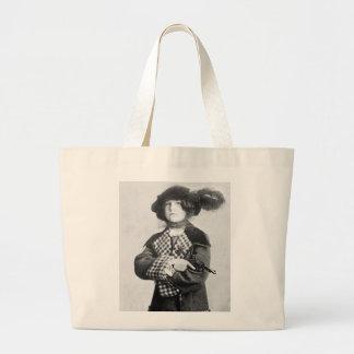 Mujer con Pistol 1910 Bolsa De Mano
