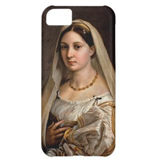 Mujer con Raphael Santi de Donna Velata del La del