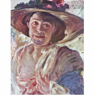 Mujer con Rosenhut retrato de Charlotte Berend Escultura Fotográfica