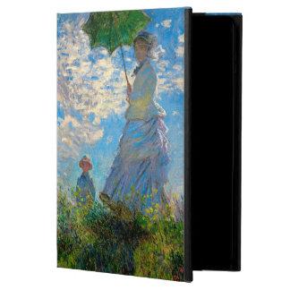Mujer con un impresionista de Claude Monet del
