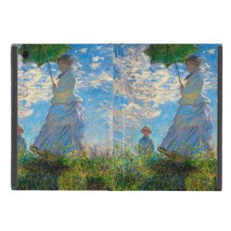 Mujer con un impresionista de Claude Monet del iPad Mini Coberturas