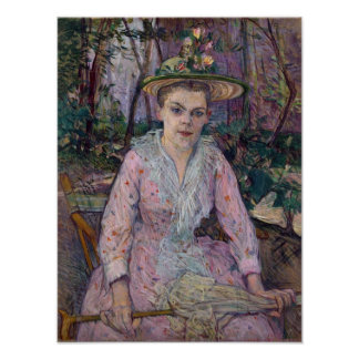 Mujer con un paraguas, 1889 impresiones