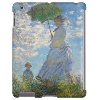 Mujer con un parasol, 1875 (aceite en lona)