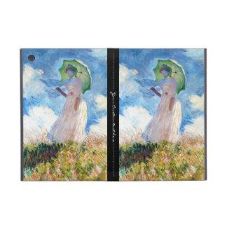Mujer con un parasol Claude Monet iPad Mini Cárcasa