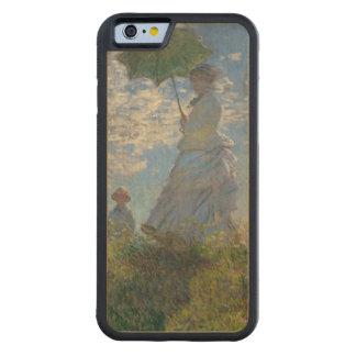 Mujer con un parasol de Claude Monet Funda De iPhone 6 Bumper Arce