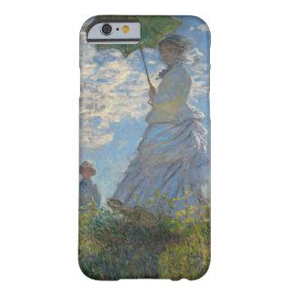 Mujer con un parasol - señora Monet y su hijo Funda Barely There iPhone 6