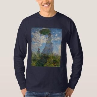 Mujer con un parasol - señora Monet y su hijo Playera