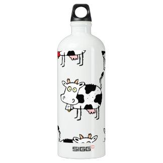 Mujer de 8 vacas