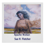 Mujer de Apache Posters
