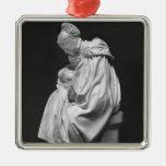 Mujer de Boulonnaise que alimenta a su niño Adorno De Reyes