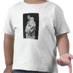 Mujer de Boulonnaise que alimenta a su niño Camiseta