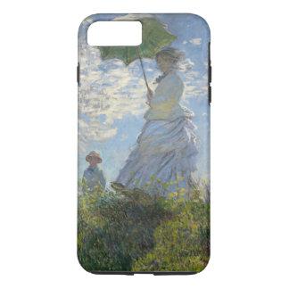 Mujer de Claude Monet con un vintage de la bella Funda iPhone 7 Plus